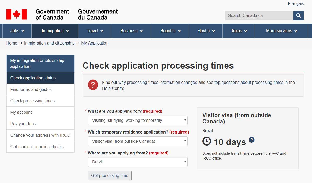 Processamento de visto, visto de turismo, estudos ou trabalho temporário, visto do brasil 10 dias para receber o visto do brasil