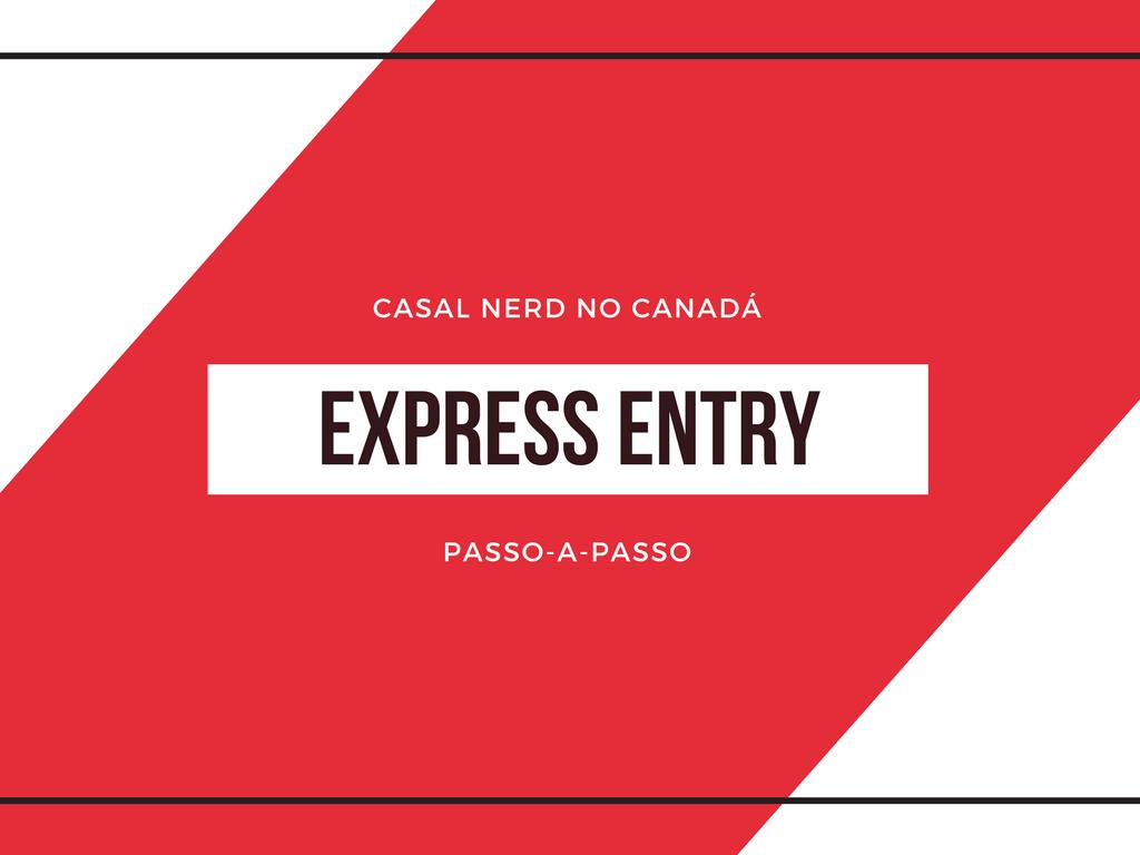 Passo-a-passo do Express Entry título