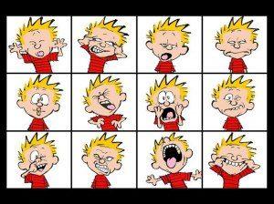 Calvin faces 3x4
