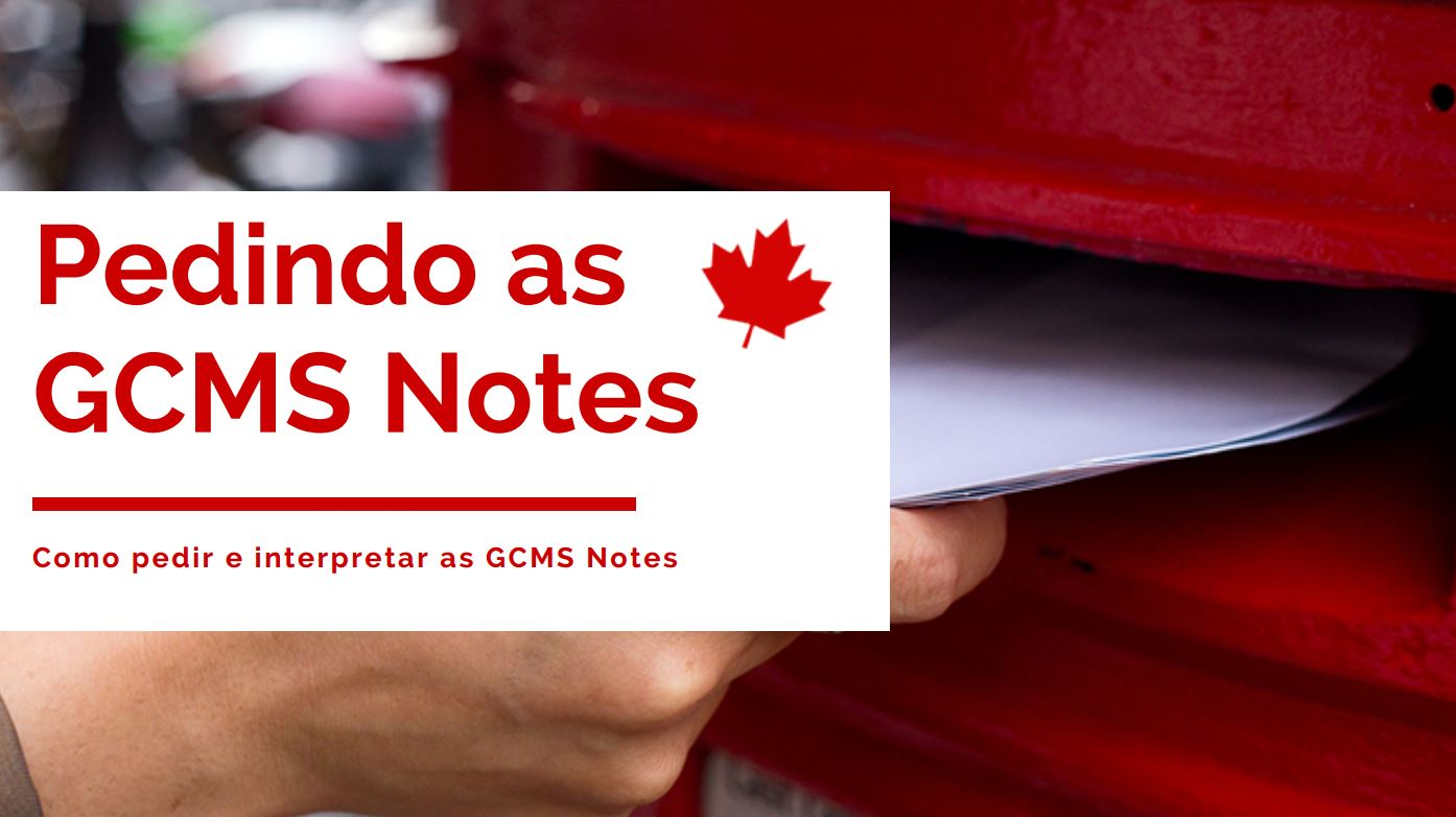 GCMS NOTES pedindo as GCMS NOTES como pedir e interpretar as notes