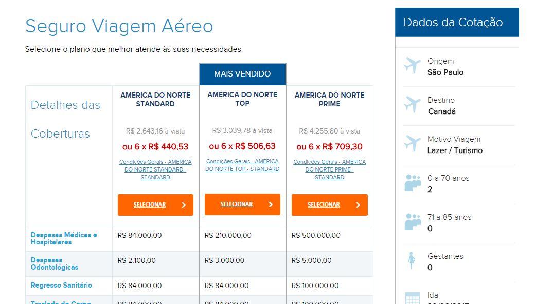 Seguro saúde cotado no Brasil... um absurdo realmente.
