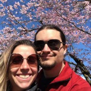 cherry blossoms and us