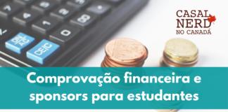 Comprovação financeira